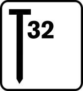 Hřebíky RAPID 32