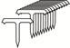 T pin plastové hřebíky TITAC
