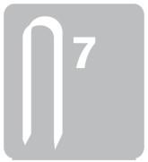 Sponky na kabely RAPID 7